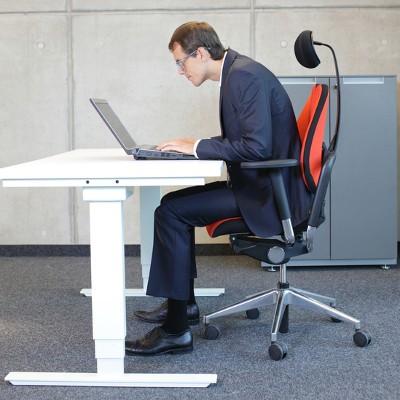 Avoiding Back Pain and Eye Strain in the Office